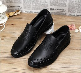 louboutin knock offs - Discount Spiked Loafer Shoes For Men | 2016 Spiked Loafer Shoes ...