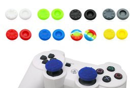 Silicone Analog Grips Poignà © e poignà © e poignà © e couvercle pour Sony Playstation 4 PS4 PS3 Xbox Controllers 20pieces