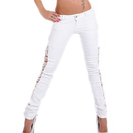 White Ripped Skinny Jeans For Women Online | White Ripped Skinny