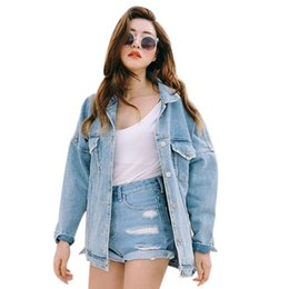 Discount Plus Size Jacket Jeans Women | 2017 Plus Size Jacket