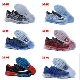 Discount Shoes Run Air Max 38Color New arrival Drop Shipping Cheap Famous Air 2016 Mens Running Shoes Max Sneaker Trainers size 40-46