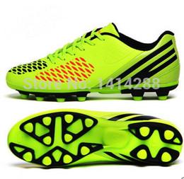Nuevos zapatos de fútbol para niños y adultos Entrenamiento zapatos de fútbol para zapatos de Spike Zapatos de deporte profesional Botas de fútbol D-1976