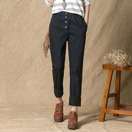 Loose Womens Linen Pants Online | Loose Womens Linen Pants for Sale