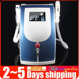 Wholesale Pro IPL Laser E light Hair Removal Freckles Pigment Removal RF Radio Frequency Skin Rejuvenation Anti aging Salon Beauty Machine