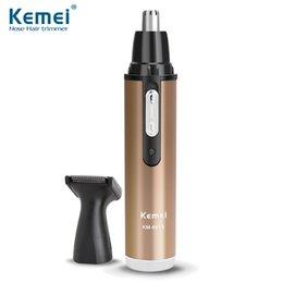 Wholesale HOT Kemei6629 Fashion Electric Shaving Nose Hair Trimmer Safe Face Care Shaving Trimmer For Nose Trimer