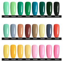 Wholesale soak off led uv gel polish nail gel nail art products lacquer varnish gelish by DHL