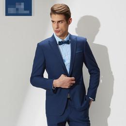 Discount Slim Fit Royal Blue Men S Suit | 2017 Slim Fit Royal Blue ...