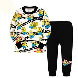 Discount Minion Pajamas For Kids   2017 Minion Pajamas For Kids on ...