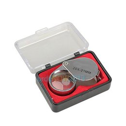 glasses order online i8o9  Mini 20 x 21mm Jeweler Loupe Eye Magnifier Magnifying Glass Triplet E5M1  order<$18no track