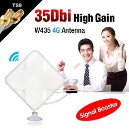 Gros-2M Câble 4G 35dBi TS9 Pour Huawei E5756 E3276 E392 E398 E660A Connecteur d'antenne EL4527