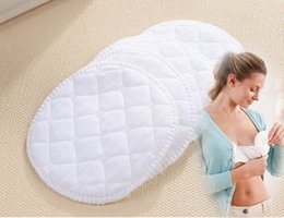 Wholesale 12pcs Reusable Nursing Breast Pads Washable Soft Absorbent Baby Breastfeeding