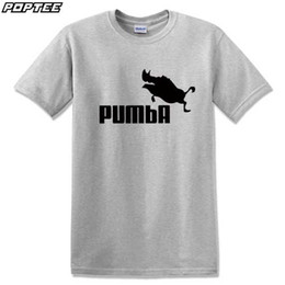 new fashion summer design funny tee cute t shirt homme mens simba pumba women 100 cotton cool sport tshirt lovely top