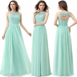 Pastel Mint Green Bridesmaid Dresses Suppliers | Best Pastel Mint ...