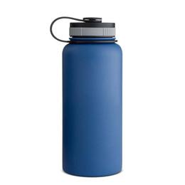 Nouvelle arrivée d'eau en acier inoxydable Bouteille Bouteille Hydro Flask eau sans logo Wide Mouth Flex Cap