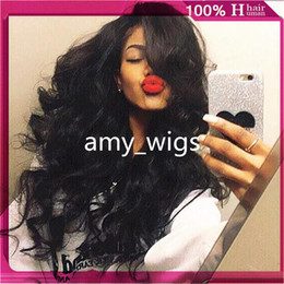 2017 ombre human hair wave Silk Top Full Lace Wigs Virgin Peruvian Glueless Full Silk Base Wigs Body Wave Silk Base Lace Front Human Wigs For Black Women ombre human hair wave outlet