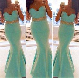 Discount Mint Green Mermaid Ruffle Prom Dress | 2017 Mint Green ...