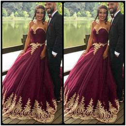 Vine muslim burgundy long sleeve sweetheart wedding bridal dress gown custom