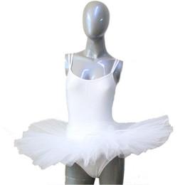 Nylon / Lycra y Hard Tulle 7 capas de medio tutú de la danza para el funcionamiento del baile del ballet Damas y muchachas Tamaños completos 12 colores disponibles