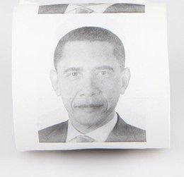 Хиллари Клинтон Дональд Трамп Барак Обама Туалетная бумага - Новинка Смешные Туалетная бумага Gag Gift