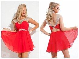 Red dress knee length 6mm