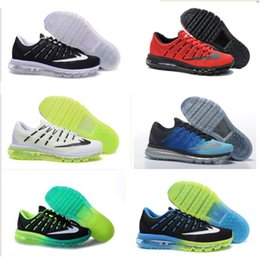 2016 Shoes Run Air Max 2016 new air Running Shoes black factory outlet men Sports Shoes maxes shoes sneakers Trainers roshes run Free Shipping Shoes Run Air Max for sale