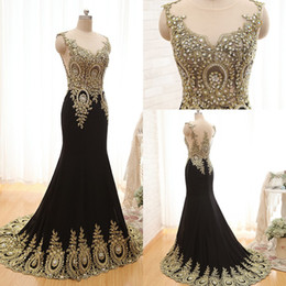 Wholesale 2017 New Arrival Sheer Formal Evening Gowns Unique Design Peacock Crystal Lace Mermaid Long Sweep Train Prom Dresses