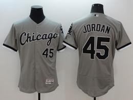 2016 Flexbase cosió Chicago White Sox # 45 Jordania / 35 Thomas / 49 venta / 79 abreu / blanco blanco negro gris saludo al servicio MLB jersey mezcla orden