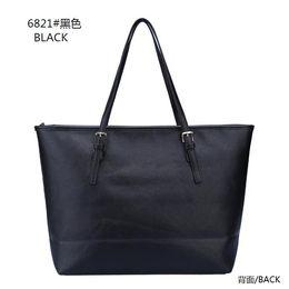 2017 deep shop European and American fashion handbags leather bag lady cross pattern tote bag shopping bag Commuter Bag