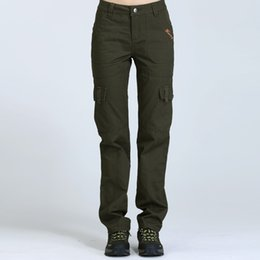 Discount Army Fatigue Cargo Pants Women | 2017 Army Fatigue Cargo ...