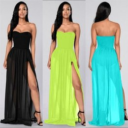 Strapless Dresses Casual Summer Online  Long Strapless Casual ...