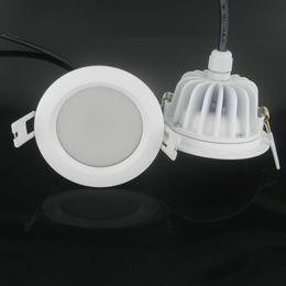 online shopping 10pcs w ip65 driverless dimmable led ceiling spot lights ac220v bathroom shower room led ceiling wall shower lighting