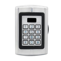 IP65 Waterproof RFID 13.56MHz IC & CPU Card Backlit Keypad Access Control for Outdoor Security Silver F1290D cheap panel cpu from panel cpu suppliers