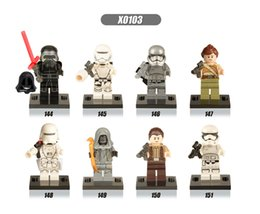 Star Wars 7 awakening force minifigures kid legos set of 8 anime figure Kids block toy wholesale lot DHLink freeshipping from wholesale star wars party supplies suppliers