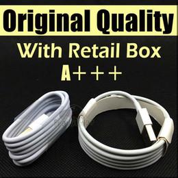 Cable micro del USB Cable original de los cables de datos de la sinc. De la calidad 1M 3Ft 2M 5FT con la caja al por menor para el teléfono Samsung S6 S7 borde