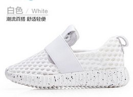 Children s shoes Girls in white shoe children summer new sneakers pupil breathable running shoes online