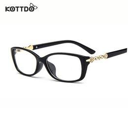 wholesale new brand designer womens vintage retro eye glasses spectacle frame for women optical eyeglasses frame oculos de grau affordable womens designer