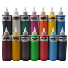 Wholesale Powerful tattoo inks Black Time inks oz Black Liner Shader Tattoo artist use tip Ink Bottle Tattoo outlining ink grey wash shading