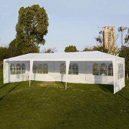 10'x30 'Свадьба Открытый патио Палатка Canopy Сверхмощный Бельведер павильон Событие AP2014WH