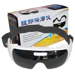 Wholesale magnetic Health care eye Massager Adults Children Eye Care Alleviate Fatigue Vibration massage Eye Relaxr Adjustable elastic