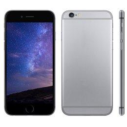 5.5''i6s más 1: 1 de doble núcleo MTK6572 i6s GooPhone más llamada de teléfono 2G con 512MB / 4GB (pueden mostrar 1 GB / 64 GB) 5.mp cámara de la caja sellada del envío libre