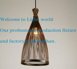 2017 bamboo pendant lamps japanese handmade natural bamboo chandelier style decorative lamps personality dining room pendant bamboo pendant lighting