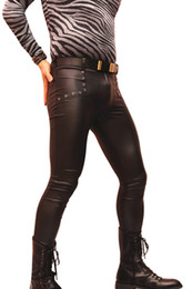 Discount Matte Black Pants   2017 Matte Black Leather Pants on ...
