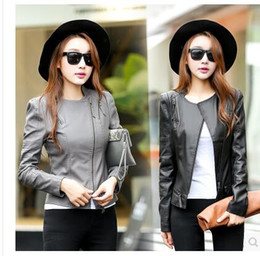 Short Leather Jackets For Girls Suppliers | Best Short Leather ...