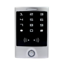 IP65 Waterproof Touch Panel RFID13.56MHz IC & CPU Door Access Control Silver F1273D from panel cpu manufacturers
