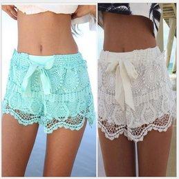 Discount White Lace Beach Pants Women | 2017 White Lace Beach ...