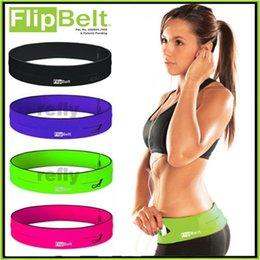 FlipBelt Пояс пригодности Лучший в мире фитнеса и БЕГОВОГО тренировки Велоспорт Пояс S M L Размер