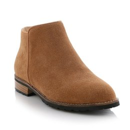 Ladies Brown Leather Ankle Boots Online | Ladies Brown Leather ...