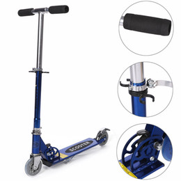 Kids Adult 2 Wheels Outdoor Ride Push Exercise Scooter Folding Kick Scooter