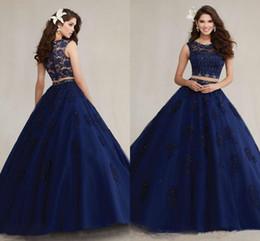 Dark Blue White Quinceanera Dresses Online | Dark Blue White ...