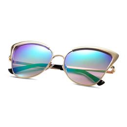 american aviator sunglasses j26c  American Optical Sunglasses for Woman UV400 YJMH028 Gold Frame Cat Eye  Glasses